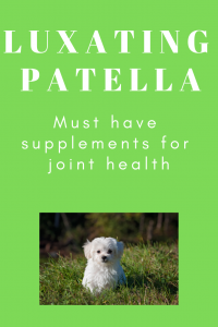 Supplements for luxating patella
